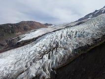 Coleman Glacier Fotografia Stock Libera da Diritti