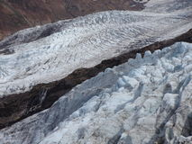 Coleman Glacier Images libres de droits