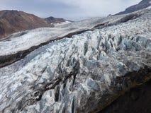 Coleman Glacier, Baker de bâti Photo libre de droits