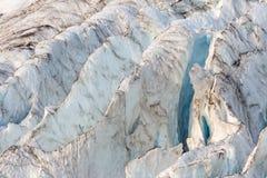 Coleman Glacier Blue Ridges stock images