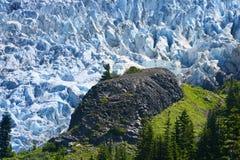 Coleman Glacier Stock Photo