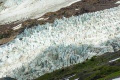 Coleman Glacier. Stock Photos