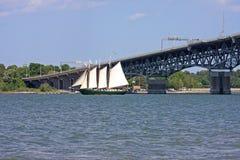 Coleman Memorial Bridge foto de archivo