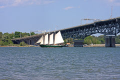 Coleman Memorial Bridge Stock Photo