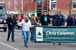 Coleman Waves in Grande Day Parade Royalty Free Stock Images