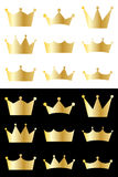 Coleção da coroa Imagens de Stock Royalty Free