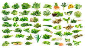Coleção das frutas e legumes Fotografia de Stock Royalty Free