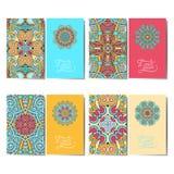 Coleção de cartões florais decorativos, Fotografia de Stock