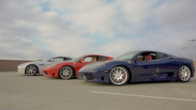 Coleção do carro de esportes Imagens de Stock