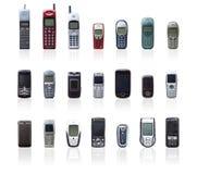 Coleção do móbil do vintage Fotografia de Stock Royalty Free
