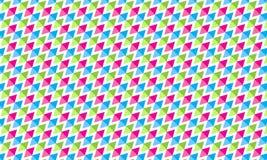 Coler六角形样式 免版税库存图片