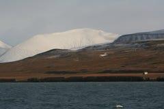Coles Baai, Spitzbergen Royalty-vrije Stock Afbeeldingen