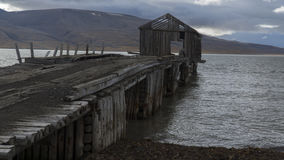 Coles Bay. Svalbard Stock Photography
