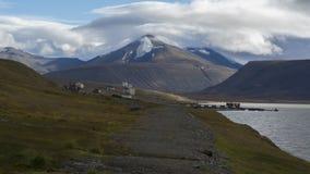 Coles Bay at Svalbard, Spitzbergen Stock Image