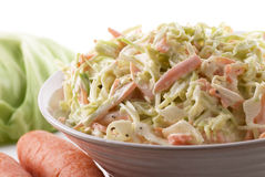 Coleslaw Stock Photo