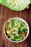 Coleslaw salad Royalty Free Stock Photography
