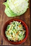 Coleslaw salad Stock Image