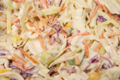 Coleslaw Salad Stock Photos