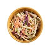 Coleslaw salad Royalty Free Stock Photos