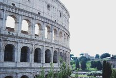 Colosseo colosseum Rome italy stock photo