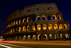 Colesseum by night Stock Photo