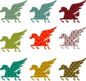 Coletiont Pegasus latanie Fotografia Royalty Free