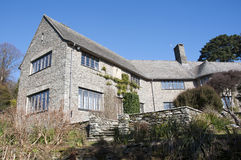 Coleton Fishacre Country house in Devon Stock Images