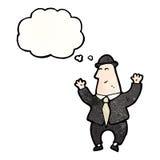 coletor de impostos dos desenhos animados Foto de Stock Royalty Free