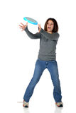 Coletor do Frisbee Imagens de Stock Royalty Free