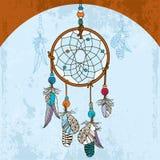 Coletor ideal indiano decorativo no fundo do grunge Foto de Stock Royalty Free
