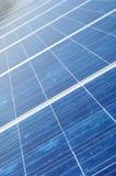 Coletor novo do painel solar Foto de Stock Royalty Free