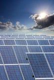 Coletor solar Fotografia de Stock Royalty Free