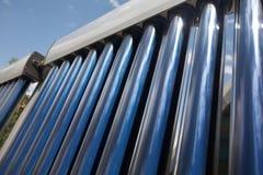 Coletor solar três Fotografia de Stock