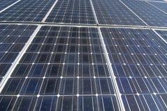 Coletores solares Foto de Stock
