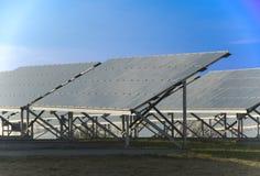 Coletores solares fotos de stock royalty free