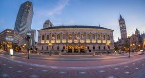 Coley Square in Boston, MA, USA Stock Image