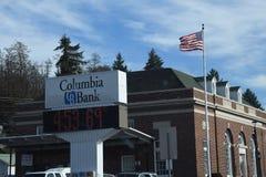 COLFAX-STAD FINANCIËLE DIESTRICT, WASHINGTON royalty-vrije stock fotografie