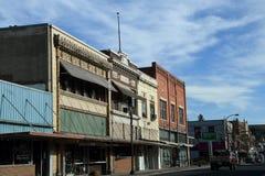 COLFAX TOWN FINANCIAL DIESTRICT ,WASHINGTON. Colfax /Washington/USA./ 22.April 2019/Business an financial district of old colfax town in Washington  USA.  Photo stock photo