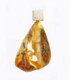 Colgante ambarino báltico Imágenes de archivo libres de regalías