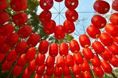 Colgante chino de las linternas Imagen de archivo libre de regalías