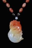 Colgante chino del jade Imagenes de archivo