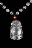 Colgante chino del jade Imágenes de archivo libres de regalías