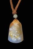 Colgante chino del jade Fotografía de archivo libre de regalías
