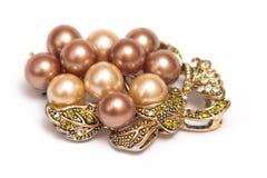 Colgante de la perla Foto de archivo libre de regalías