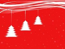 Colgante de los árboles de Navidad Fotografía de archivo libre de regalías