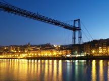 colgante De Vizcaya Puente Obraz Royalty Free