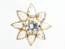Colgante del diamante Fotos de archivo libres de regalías
