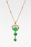 Colgante del jade Foto de archivo