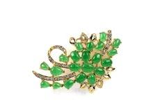 Colgante del jade Imagen de archivo libre de regalías