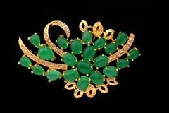 Colgante del jade fotografía de archivo